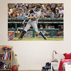 Jim Thome 600th Home Run Mural Fathead Wall Decal